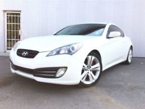 2012 Hyundai Genesis Coupe 3.6L, LEATHER, SUNROOF, BLUETOOTH.