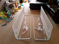 Safetots Extra Wide Double Sided Bed Rail White X 2