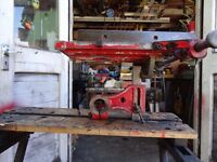 old red Coronet minor saw table attachment
