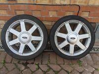 """ford fiesta mk5 16"""" alloy wheels"""