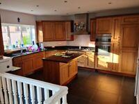 Kitchen with granite worktop