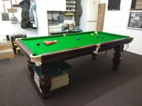 1 Off 7ft Snooker Table With Aristocrat Legs Made in The UK