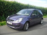Ford Fiesta Style 3 door 1.2, one lady owner since new, very low mileage 46821m only