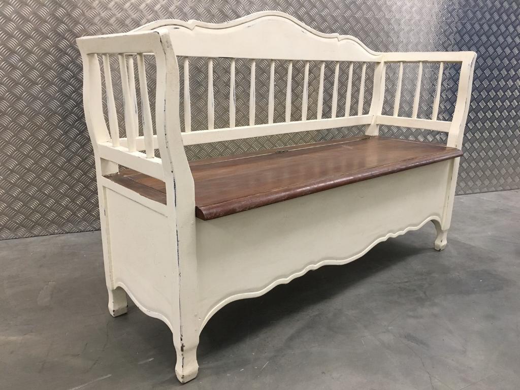 Laura Ashley Bramley Shabby Chic Bench Seat With Storage John