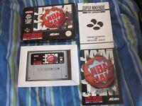 NBA Jam SNES Complete PAL VGC SUPER NINTENDO GAME