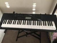 61 KEYS KEYBOARD (CASIO) INCLUDING A STAND