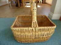 Wicker Basket - Great for Summer Picnics