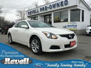 2012 Nissan Altima S...1-owner, Heated leather bkts, Moonroof, A