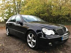 2005 Mercedes C220 CDI Estate Avantgarde SE Automatic W203 Facelift