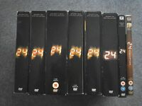 24 Kiefer Sutherland Seasons 1 - 7 plus 24 Redemption Feature Length Special