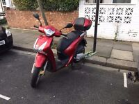 Honda SH125 Red 2013 Great Condition