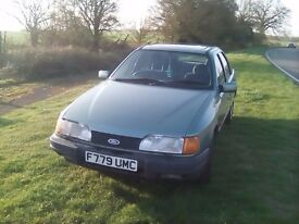 Ford serria sapphire gear 2000lt pinto 40000ml one owner from new long mot fsh in nice condition