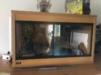 2 foot reptile vivarium with 600w dimmerstat