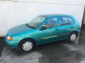 Toyota starlet , full years mot , low miles