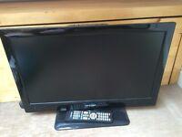 "Bush 24"" wide screen LED TV"