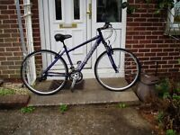 "CARRERA, CROSSFIRE 2, 18"" ALLOY FRAMED, HYBRID BIKE, 24 SPEED,"