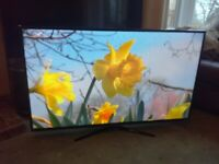 SAMSUNG 48 LED TV (UE48H4200)NOT SMART) FREEVIEW/MEDIA PLAYER/SLIM DESIGN/FOOTBALL MODE