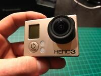 GoPro Hero 3 Black + LCD Touch Backpac 170 ono