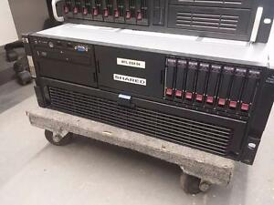 HP  DL580 G5 E7420 2.13GHz QC (2P) 4GB US Server 32GB 6X146 2X72