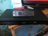 PHILIPS BLU-RAY PLAYER DVD PLAYER BLURAY PLAYER + NEW REMOTE HDMI PORT BLURAY