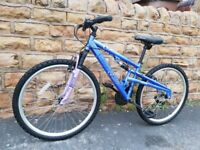 APOLLO ENDEAVOR DUAL SUSPENSION MTB teenagers or small adults size