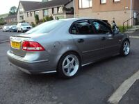 2004 04 SAAB 9-3 AERO,STUNNING CAR WITH LONG MOT AND FSH.