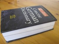 GERMAN Dictionary - 1213 pages £5