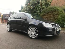 VOLKSWAGEN GOLF R32 FULL BLACK LEATHER SEATS - HEATED SEATS