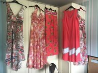 Ladies long holiday dresses size 14