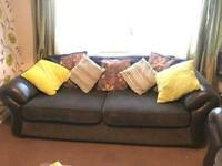 3 Seater and 2 Single Seater Sofas for sale