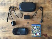 PlayStation Vita with Persona 4 Golden and 16gb card