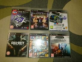 Ps3 games. 6 games in total