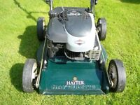 Hayterette (Orchard Mower) very good condition,owned from new,has had very little use.