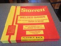 Starrett Flexible Back Welded Band Saw blade