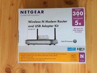 Netgear Wireless N Modem Router
