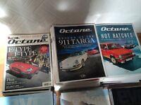 Octane and evo car magazines