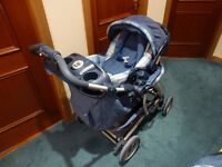 Mothercare 'Trenton' Travel System- 3 in 1; from baby to 3 years old. Excellent condition