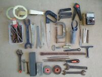 Assortment of Tools x 35 Items + Drill Bits (Job Lot)