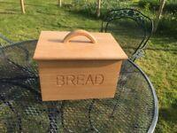 Bread bin and crockery bowls