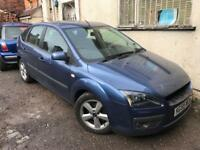 Ford Focus jeans blue Mk2 Breaking For Spares 1.6 05 06 07
