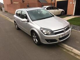 Vauxhall Astra 1.8 SRI petrol, Automatic with panoramic sunroof and 1 previous owner.