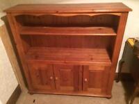 Excellent Condition Oak Bookcase