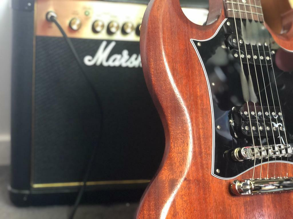 2018 Gibson SG faded worn bourbon | in Hamble, Hampshire | Gumtree