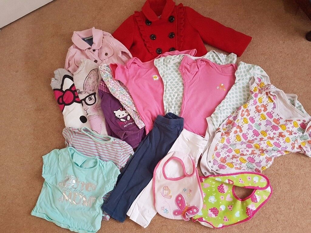 17 items of girls clothing for sale