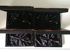 MONTBLANC WRITERS LIMITED EDITION - 1997 DOSTOEVSKY SET FP, BP, RB & P ** NEW **