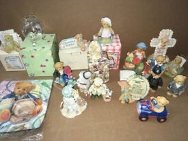 Rare Retired Cherished Teddie Collectable Bears Collection - joblot - some boxed
