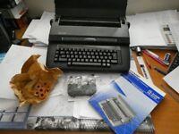 SHARP PORTABLE ELECTRONIC TYPEWRITER PA-3110