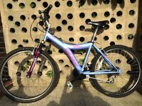 "LADIES WOMEN MENS GENTS UNISEX ADULTS HUFFY KAIBAB 26"" WHEEL 17"" FRAME 18 SPEED BIKE BICYCLE"