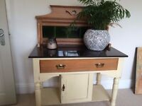 Antique Pine Washstand Sideboard Dressing table Hall table