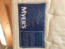 Double Mattress -> fair to good condition
